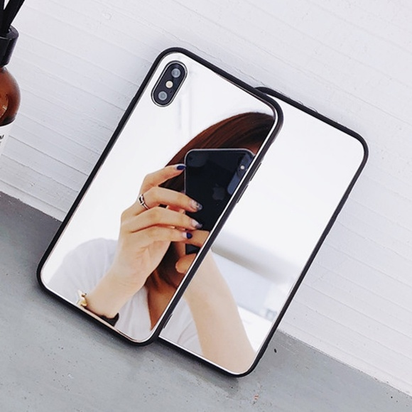 new style a6b54 91b41 NEW iPhone Max/XR/X/XS/8/Plus Mirror case Boutique